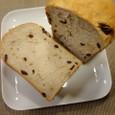 レーズン&くるみ入り食パン