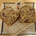 ドライフルーツたっぷり食パン