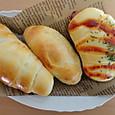 ロールパン3種