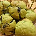 抹茶パン2種