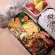 中学最後のお弁当(2011.3.11)