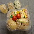 軽食のお弁当(2011.11.5)