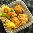 軽食のお弁当(2011.11.4)