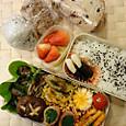 今年度最初のお弁当(2012.4.12)