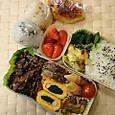 本日のお弁当(2012.4.19)