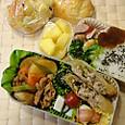 本日のお弁当(2012.5.17)