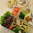 今年最初のお弁当(2013.1.11)