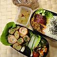 本日のお弁当(2013.9.9)