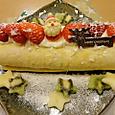 クリスマス用ロールケーキ