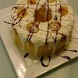 デコレーションマロンシフォンケーキ